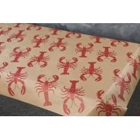 Lobster Design Table Covering - Paper Banquet Roll, 100 or 300 foot