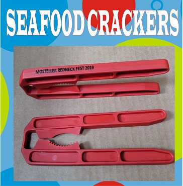 Crackers - plastic seafood crackers with imprint
