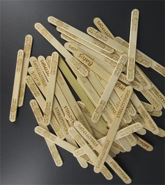 Thin Popsicle Sticks, Grow Stakes, printed - pack of 50