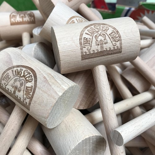 Crab Mallets - Engraved, One Side of the Head