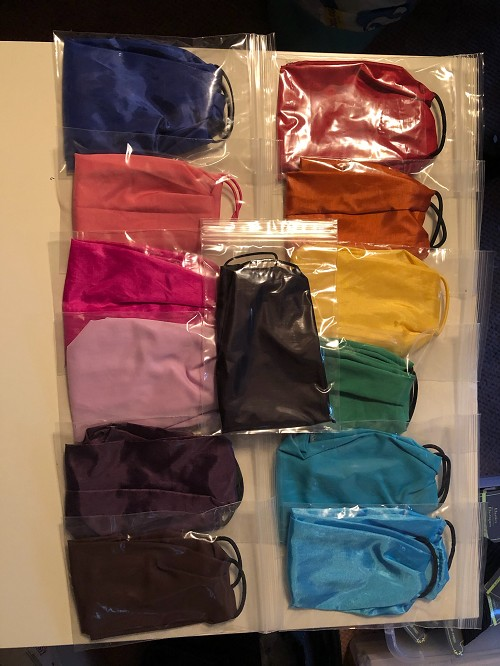 SOLID COLOR Reusable Face Mask- handmade, in stock, not medical grade, something simple to cover you!