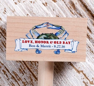 Crab Mallets - ONE Location, Full Color Imprint
