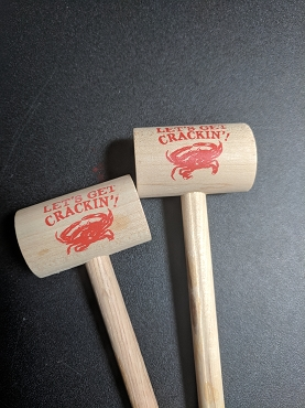 Crab Mallets - Lets Get Crackin Stock Design