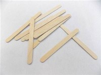 Popsicle Sticks, blank - pack of 100
